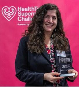 Dr Deborah Munro wins Large Enterprise Category at the HealthTech Supernode Challenge 2020