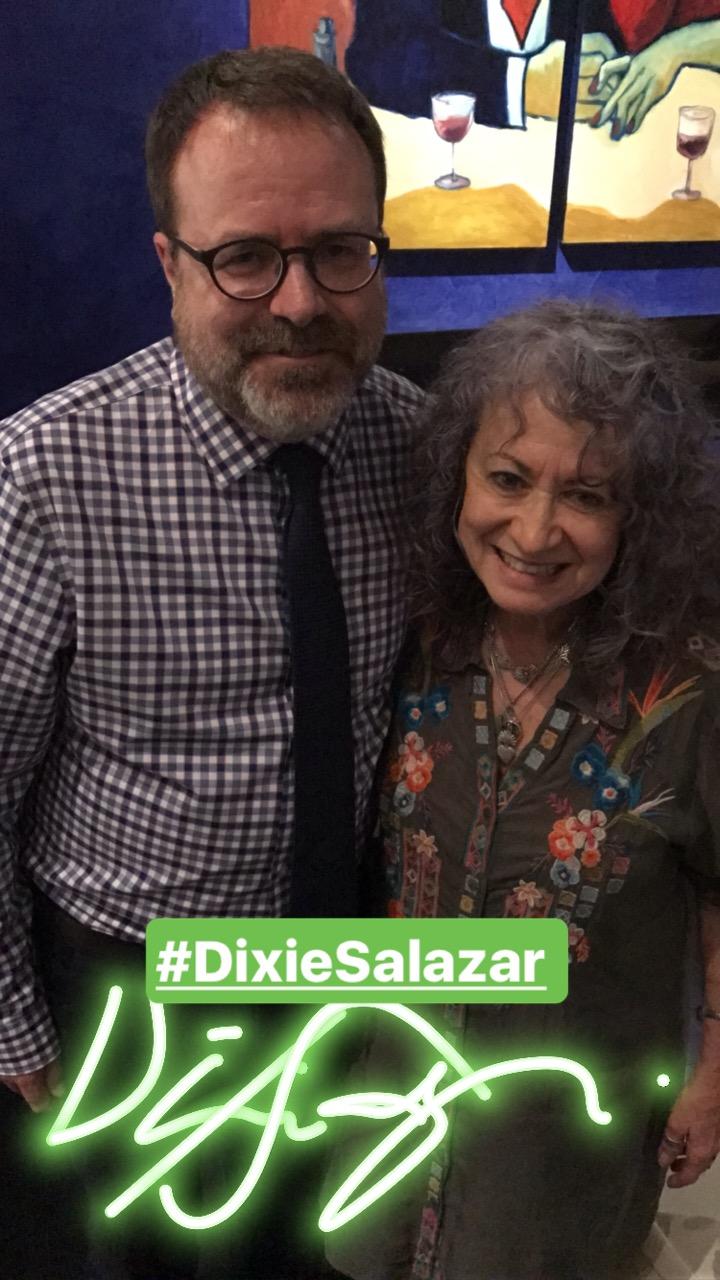 Summer Arts kickoff party: Dixie Salazar.