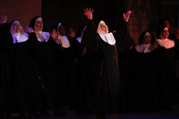 "Sing to the rafters: Ethel Birrell in ""Sister Act."""