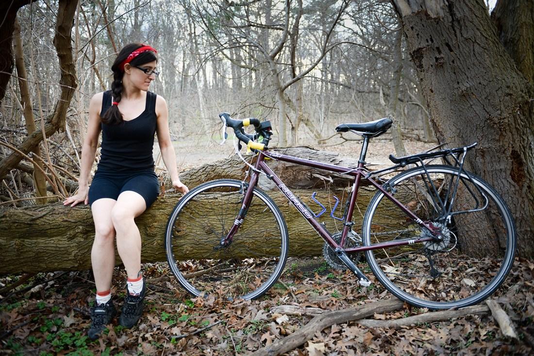 BikeFace - Natalie Frijia, Edmonton1