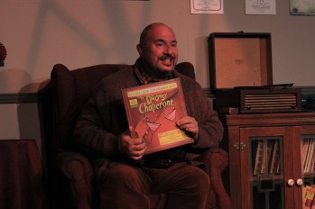 """Musical theater as therapy: Steve Souza as Man in Chair in """"The Drowsy Chaperone."""" Photo / Good Company Players"""