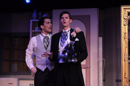 """Man in Chair: Steve Souza in """"The Drowsy Chaperone."""""""