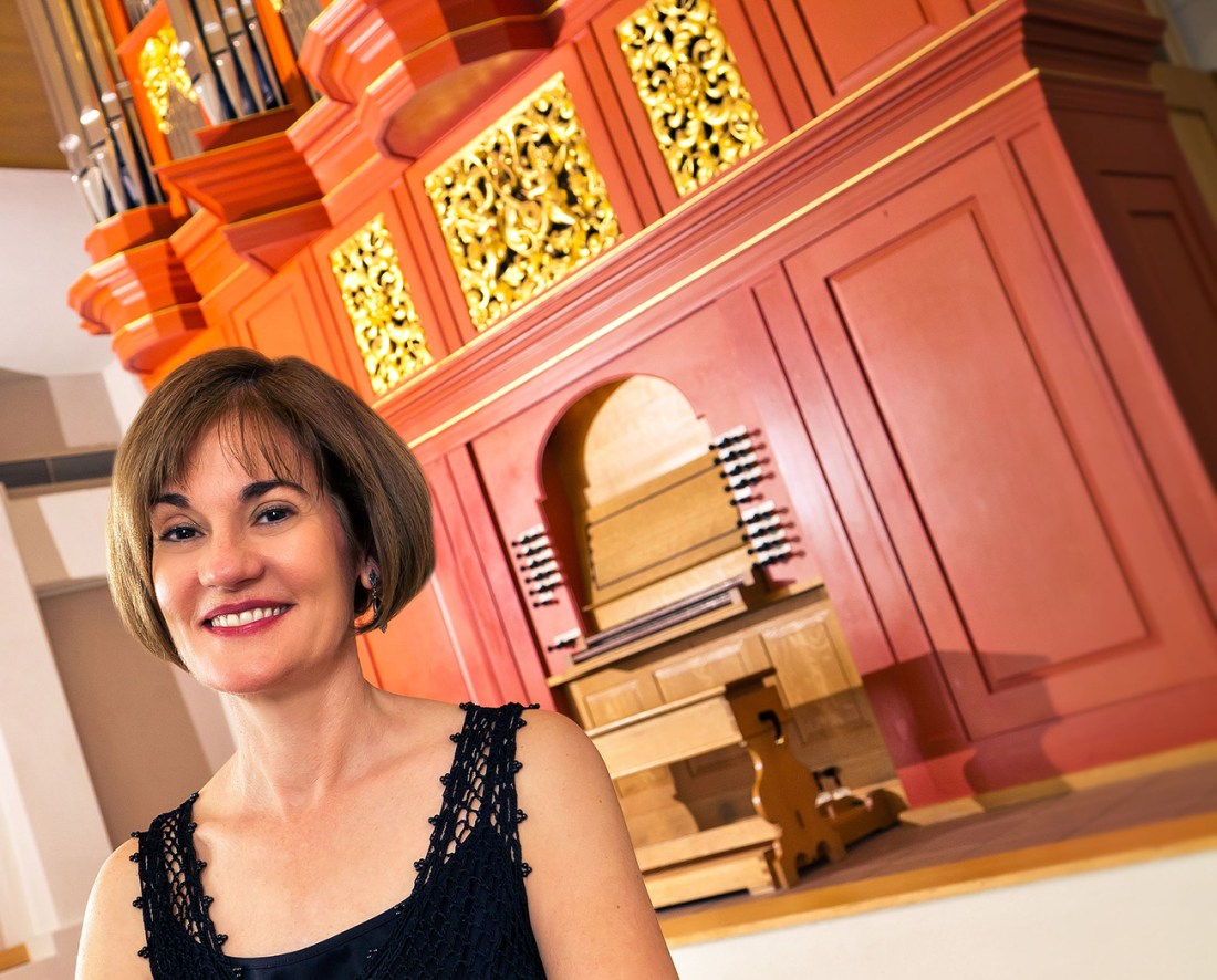 Kimberly Marshall, organist