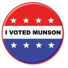 I Voted Munson