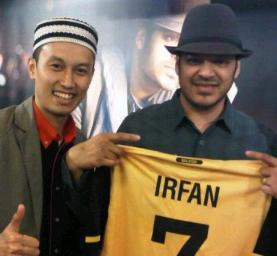 Syah Inteam dan Irfan Makki