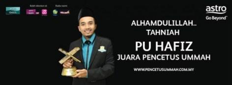Juara Pencetus Ummah, Hafiz