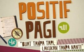 Positif Pagi di TV3