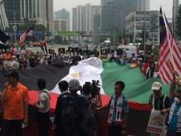 Kibaran bendera palestin