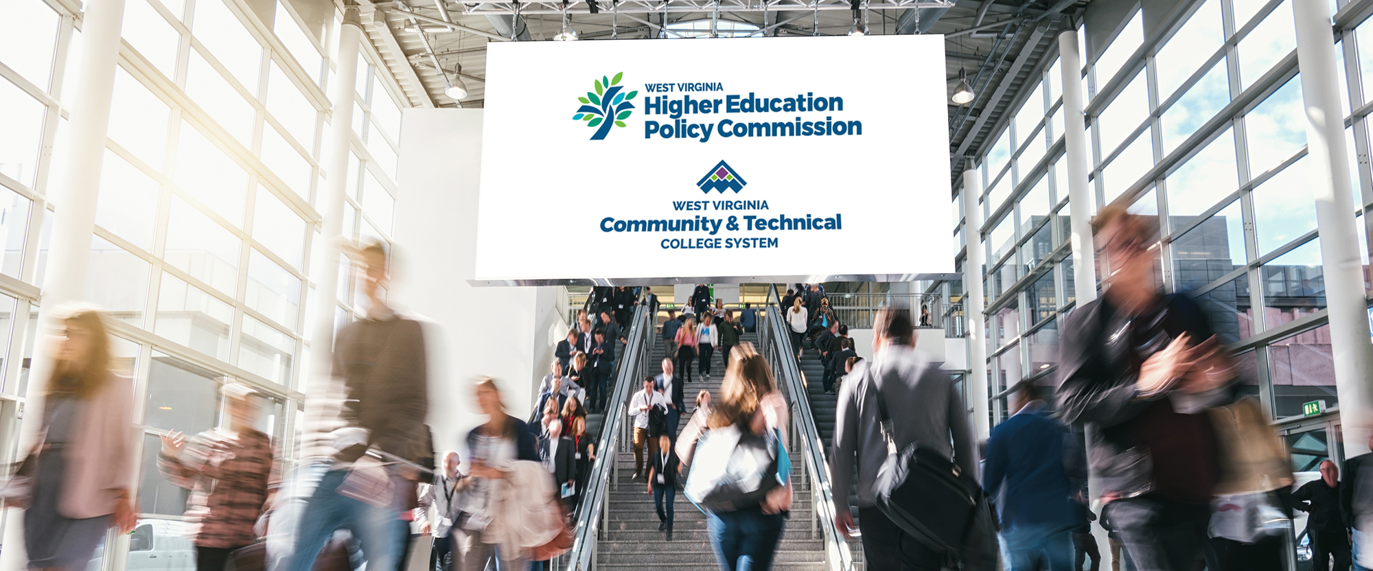 West Virginia Higher Education Policy Commission and West Virginia Community and Technical College System logos