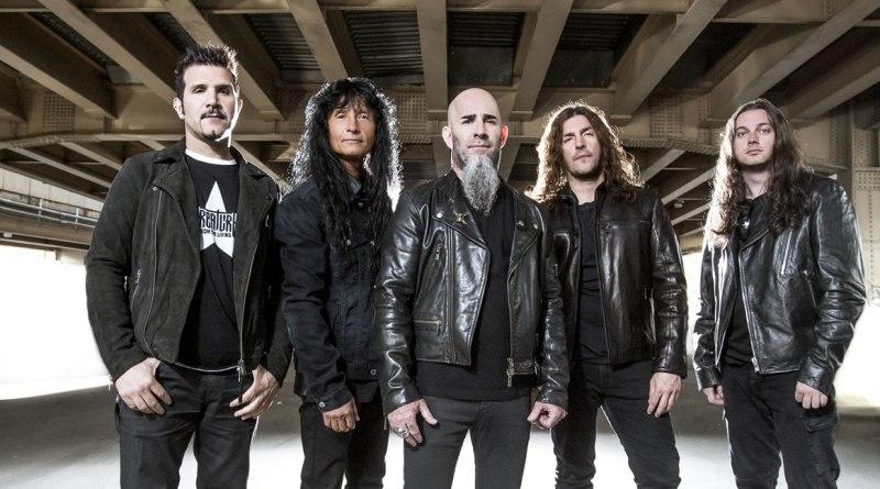 Foto promocional da banda Anthrax