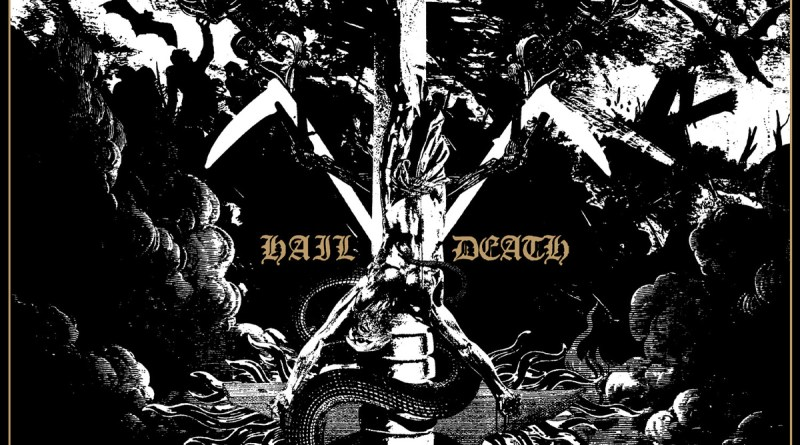 Capa do disco Hail Death da banda Black Anvil