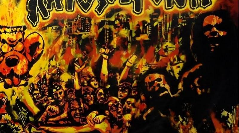 Capa do disco Seculo Sinistro da banda Ratos de Porão