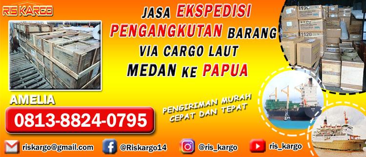 pengangkutan barang medan ke papua