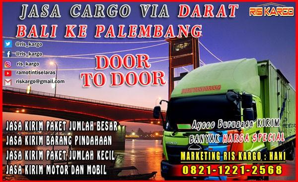 Jasa Ekspedisi Bali Palembang