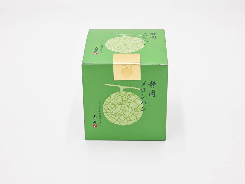 静岡メロンパンの外箱