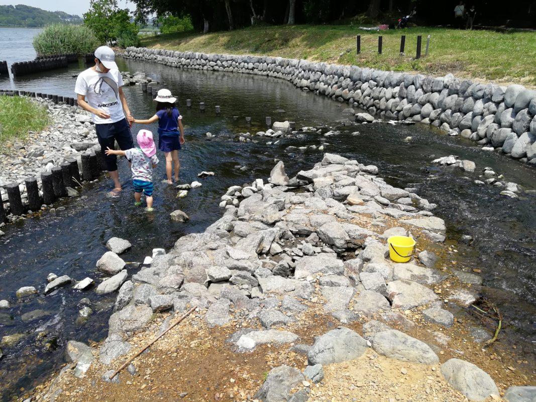 佐鳴湖公園せせらぎ水路