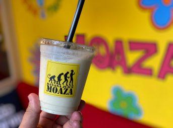 MOAZAのバナナジュース