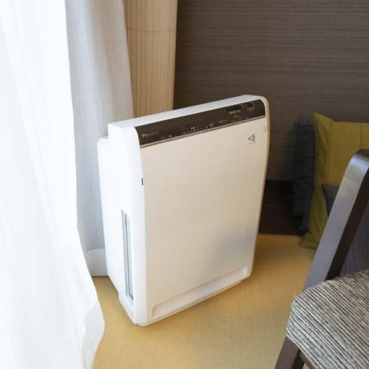 ホテル ウェルシーズン浜名湖 空気清浄機