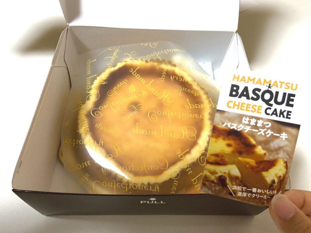 モンターニュの浜松バスクチーズケーキの中身
