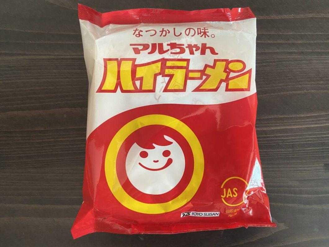 マルちゃんハイラーメン1食