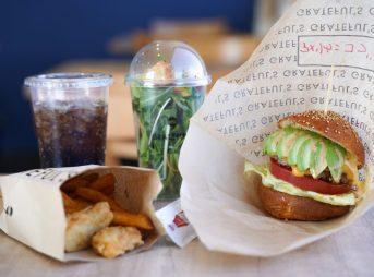 グレイトフルズ浜松はんだやま店のハンバーガー