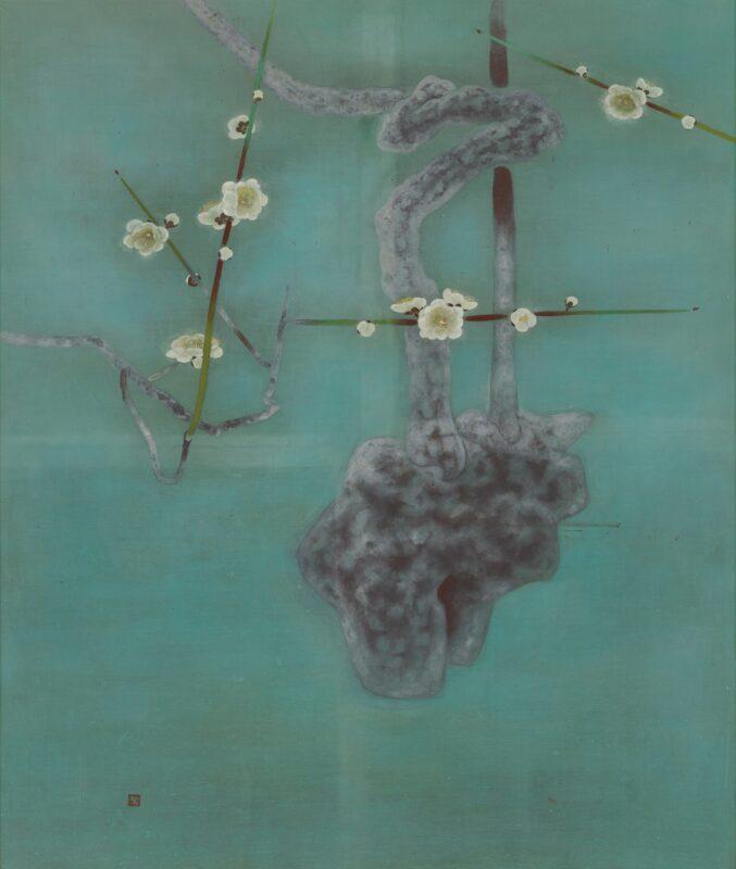 《梅》 1957(昭和32)年 愛媛県美術蔵