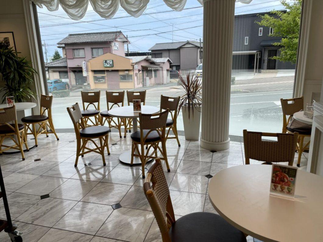 サンラファエルのカフェスペースの様子