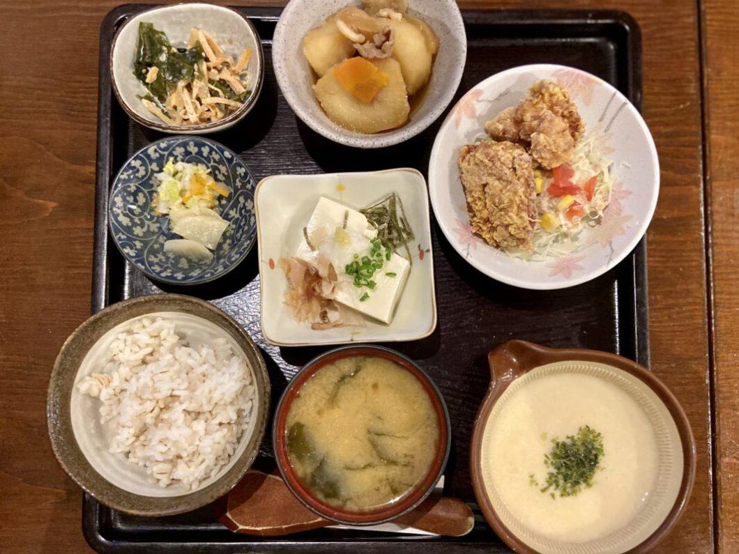 トロロ汁屋くまちゃん_夜ご飯セット