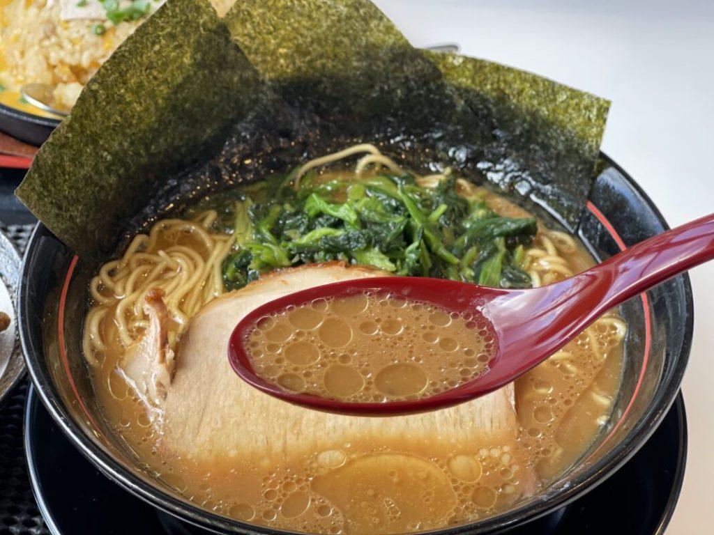 とんこつ醤油ラーメン_スープ