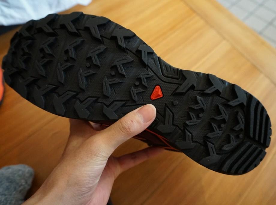 Xウルトラ3/MID(サロモン)の靴底