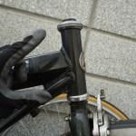 シティサイクルのヘッドセットを整備