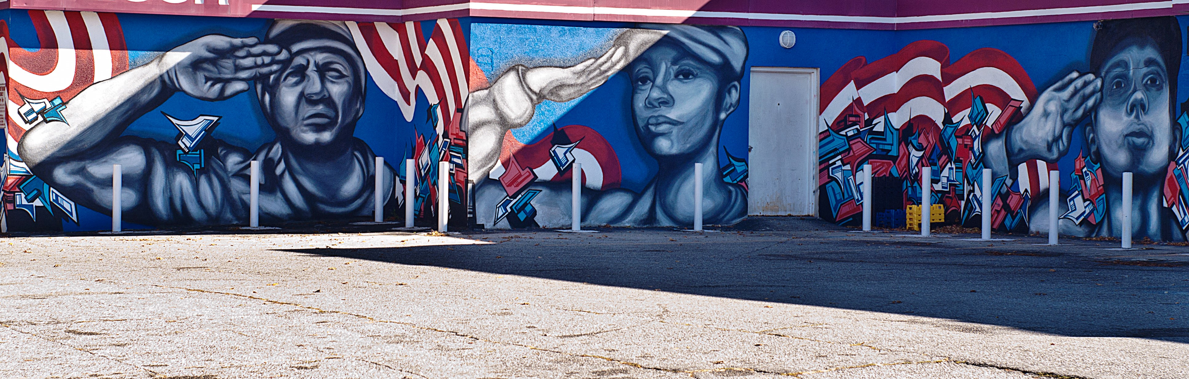 Support Our Troops Muralsdc
