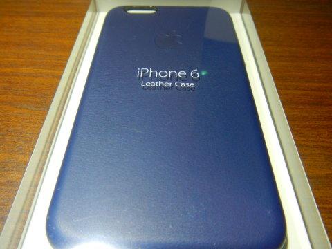 レビュー!純正iPhone6レザーケース-ミッドナイトブルー