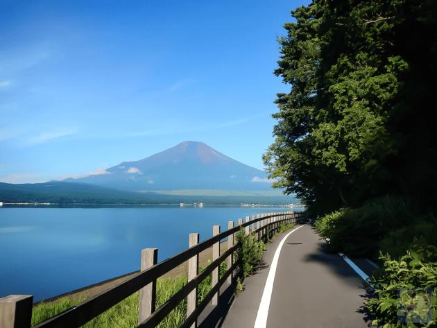 山中湖から見た富士山が絶景だった!【旅行記】