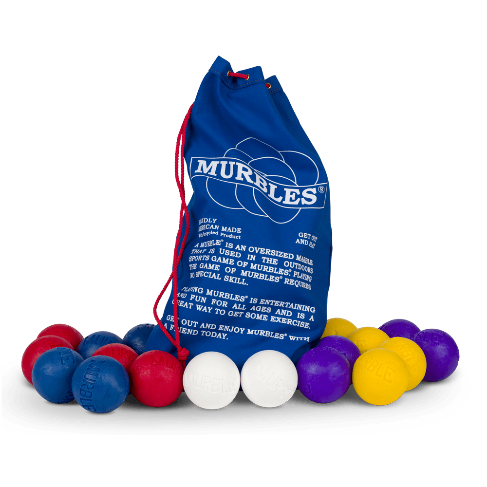 Murbles 8 Player 18 Ball Activity Set