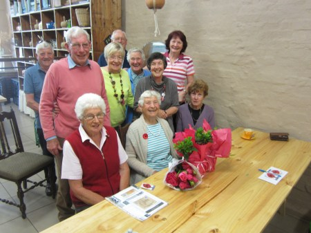 Jan Hillgrove's send-off by members of Murchison & District Historical Society