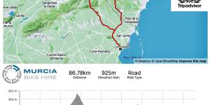 Murcia Bike Hire – Los Alcázares – Collado Ginovinos & Torremendo GPX Route