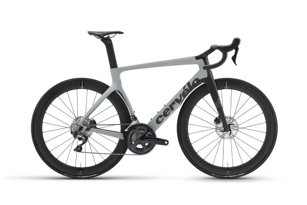 Cervelo S5 Disc Ultegra Di2 Grey Carbon - Murcia Bike Hire