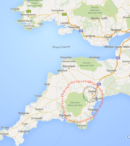 Dartmoor map copy
