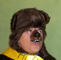 Cast as a bear, whatever next