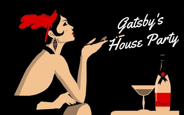 Gatsby's house party