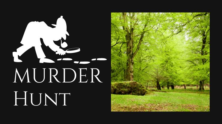 New Forest Hampshire Murder Hunt Team building Challenge from MurderedforMoney