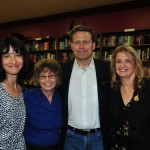 Stacey, Cheryl, David Baldacci and Joanne at David's book signing December 3, 2015.