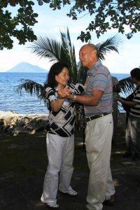 Dr. Hanny Batuna & Mrs Batuna Dancing