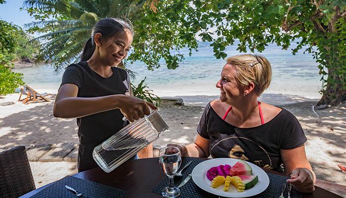 Murex Bangka Beach restaurant