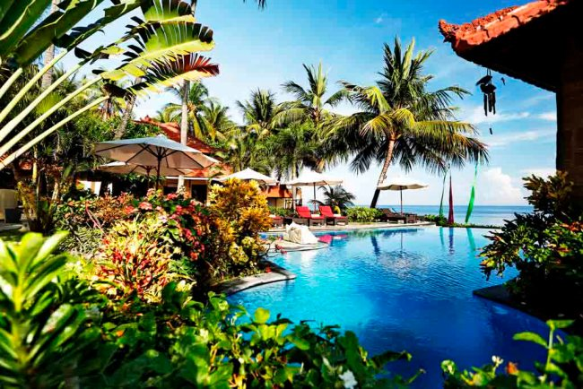 Teluk Karang Resort Balii on Indonesia Explirer