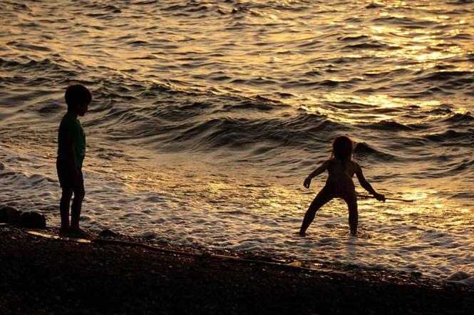 Murex family beach holiday