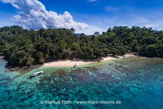 Snorkeling holiday Beach Murex Bangka