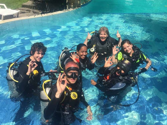PADI course at Murex