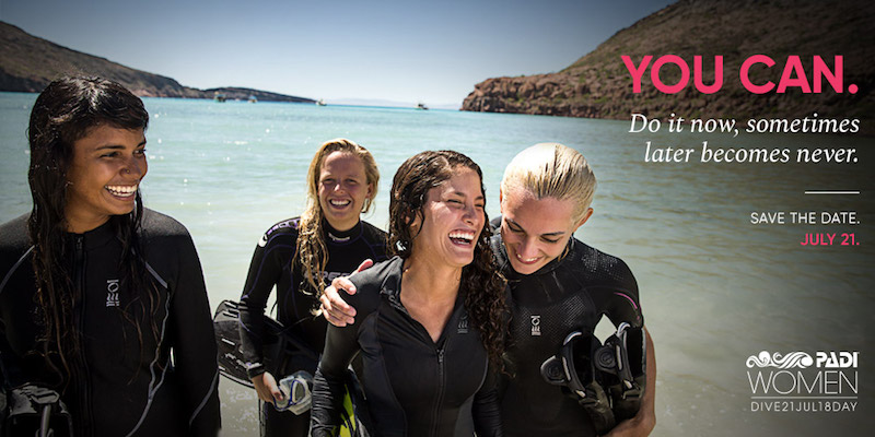 Womens Day Dive